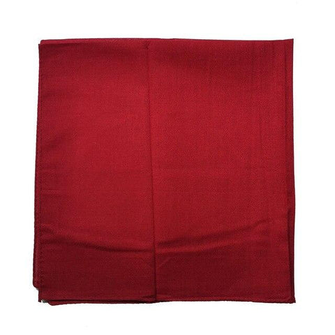 Plain Burgundy Bandana