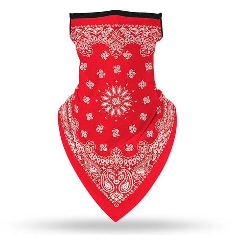 Red Biker Bandana | King Bandana