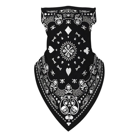 Poker Face Biker Bandana | King Bandana