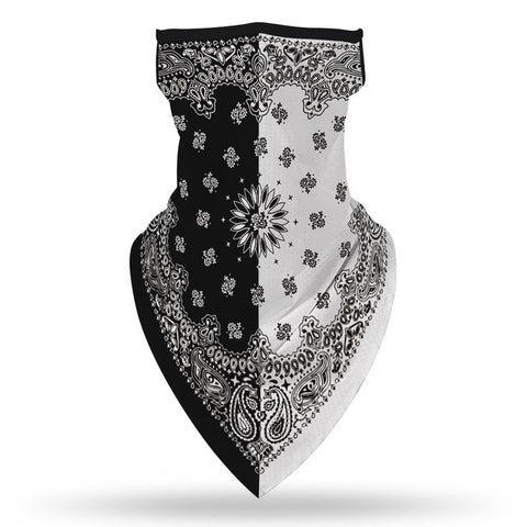 Black & White Biker Bandana | King Bandana