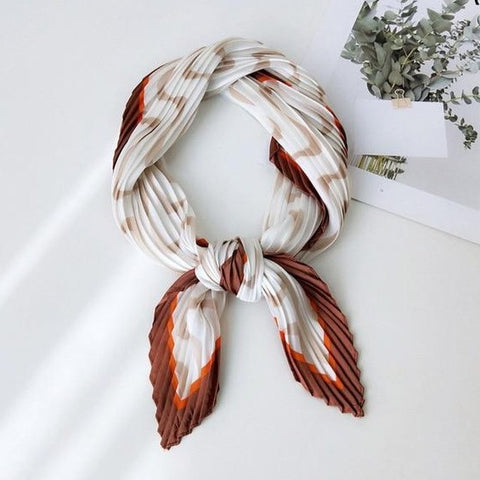 Nickituch Plissee Autumn Waves | King Bandana