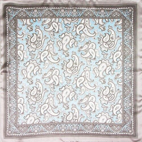 Tuch Paisley Muster