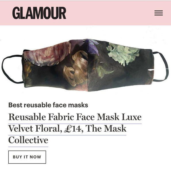 The Mask Collective Features in GLAMOUR Magazine UK