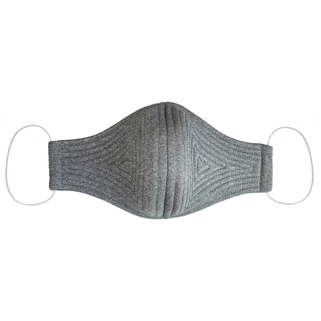 John Herrera Neoprene Reusable Face Mask Grey