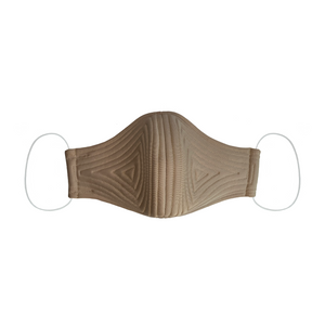 John Herrera Double-Layered Neoprene Reusable Face Mask Sand