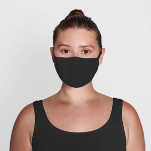 SKIMS Seamless Face Mask | Onyx