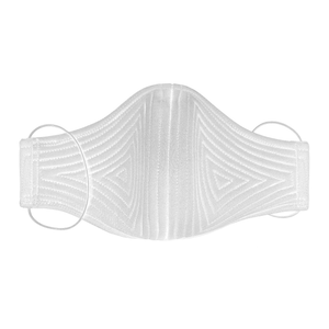 John Herrera Neoprene Reusable Face Mask Off-White