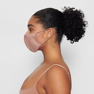 SKIMS Seamless Face Mask | Sienna