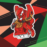 EV-02 PRODUCTION MODEL Stickers