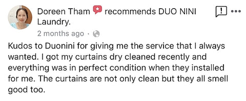 duonini dry clean review