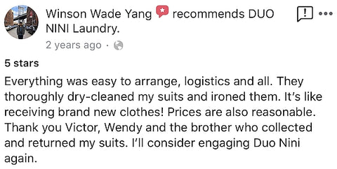 duonini dry cleaning review