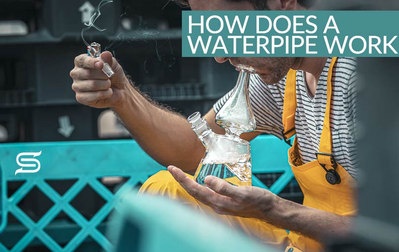 HOW DOES A BONG AND WATER PIPE WORK