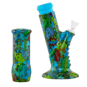 SIILICONE SLANTED WATER PIPE - 13""