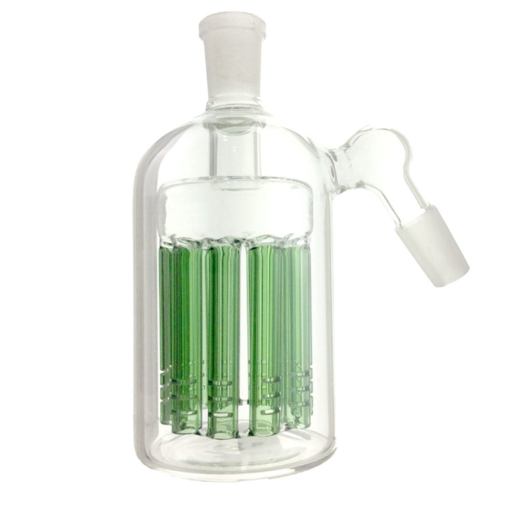 14 /14 mm M/F 45º Deg 11 Arm Green Tree Ash Catcher