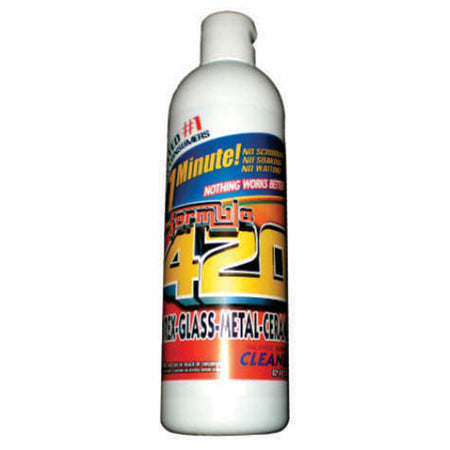 FORMULA 420 PIPE CLEANER - GLASS METAL CERAMIC CLEANSER 12OZ - Smoke City