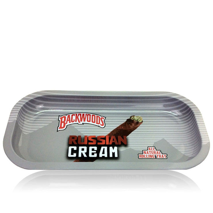RUSSIAN CREAM BACKWOODS ROLLING TRAY - SMALL