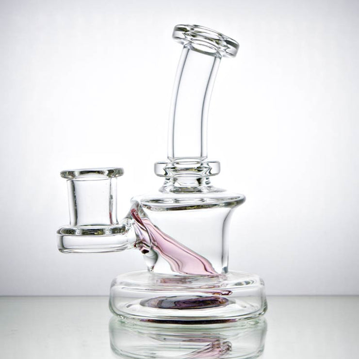 CL1 Glass Clear Jammer Dab Rig Side 1