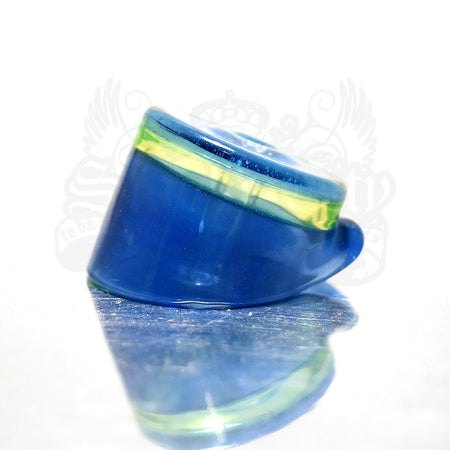 CL1 Custom Carb Cap Blue w illuminati Lip - Smoke City