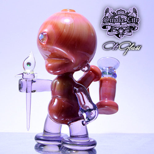 CL1 Serendipity and Purple Lollipop with Illuminati Munny Vapor Rig