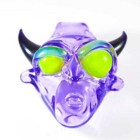 BNC Delightful Devil Glass Pendant Purple Rain 1