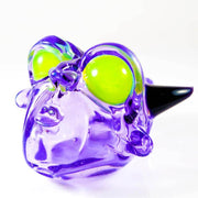 BNC Delightful Devil Glass Pendant Purple Rain 2