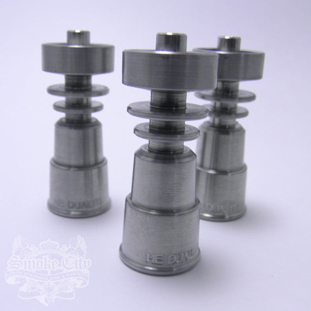 Highly Educated - Domeless DualiTi Nail - Smoke City