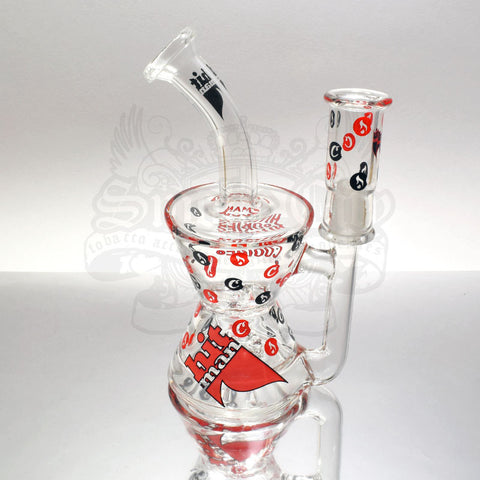 Hitman x Cookies Glass Phase2 Hourglass Rig