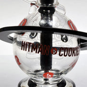Hitman x Cookies Glass Phase2 10mm Planet Vapor Rig - Smoke City