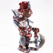 Josh St. George Glass Knight Dab Rig Angle 1