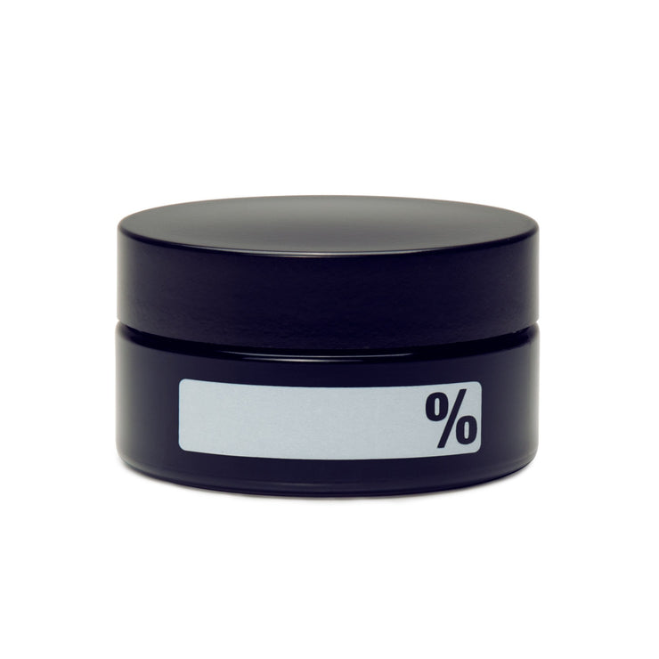 LARGE CONCENTRATE JAR - % LABEL (WRITE & ERASE) - Smoke City