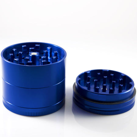 MEDIUM 4 - PIECE BLUE SHREDDER - Smoke City