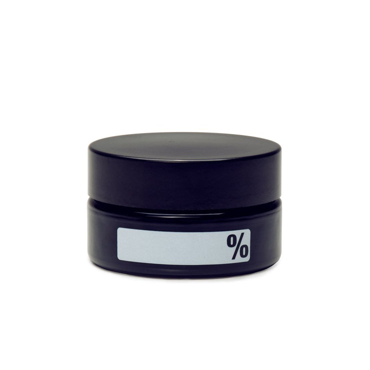 MEDIUM CONCENTRATE JAR - % LABEL (WRITE & ERASE) - Smoke City