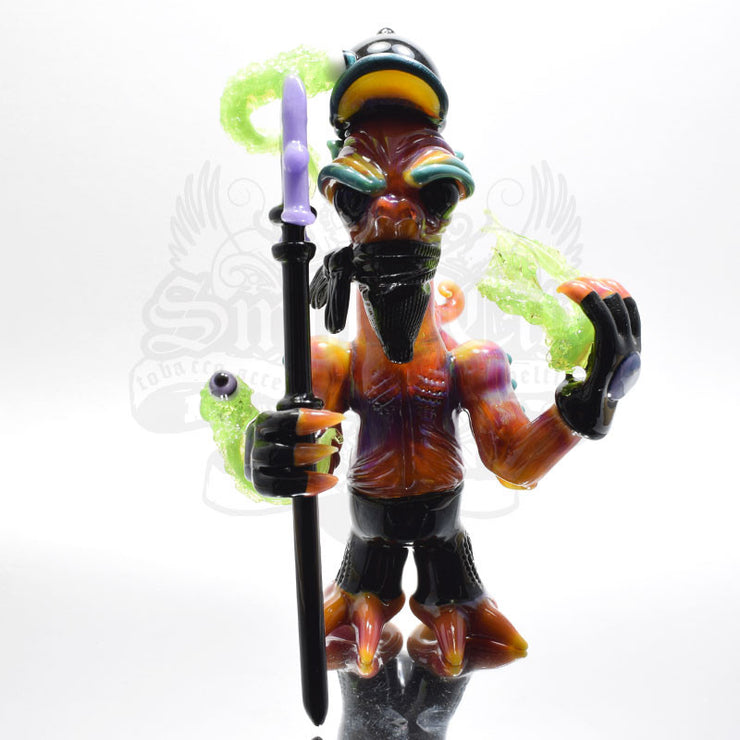 Merc Minion Team Baller Heady Vapor Rig - Smoke City