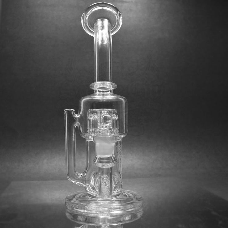 Mighty Chalice Double Treeline Recycler - Smoke City
