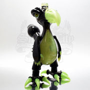 Niko Cray Birdo Vapor Bubbler - Black and Slime - Smoke City