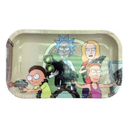 Rick N Morty Medium Rolling Tray