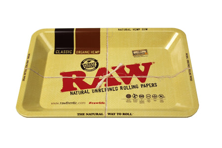 RAW Mini Rolling Tray - Smoke City