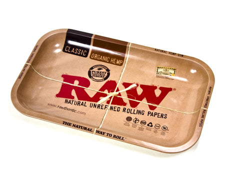 RAW Large Rolling Tray - Smoke City