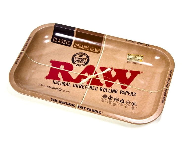 RAW Small Rolling Tray - Smoke City