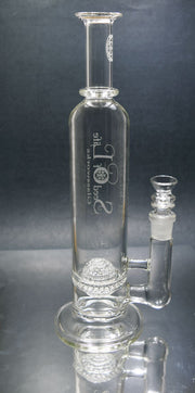 Seed of Life - Lace Sphere Perc Stemless Tube - Smoke City