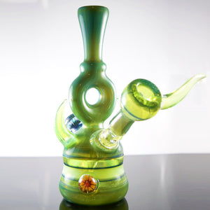 Green / Slyme Green With Custom Millies and Horn Avalon Rig