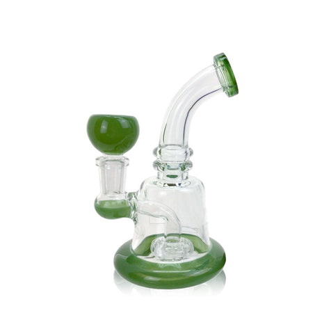 Banger Hanger Dab Rig With Showerhead Perc - 6""