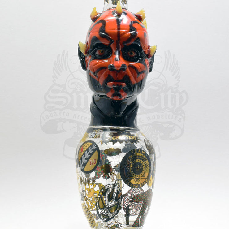 TDS (Team Death Star) X Fish (Catalyst) Darth Maul Vapor Bubbler - Smoke City