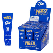 Vibes Rice Cone Papers Box King Size