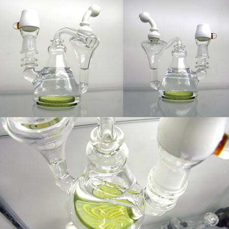 CL1 Custom White With Retti Disc Recycler - Smoke City