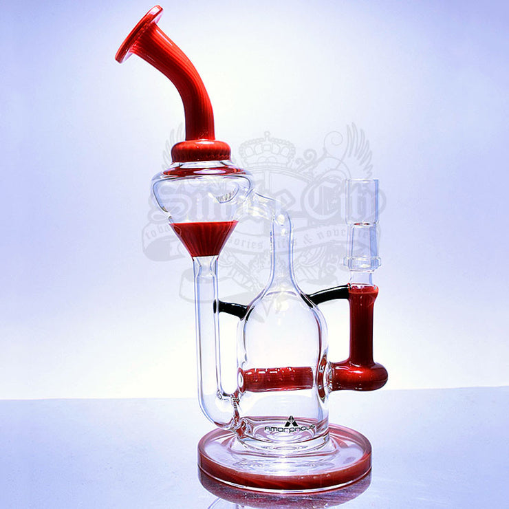 Amorphous Red Recycler - Smoke City