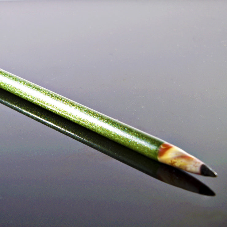 CL1 Green Moss Sparkle Pencil Dabber - Smoke City