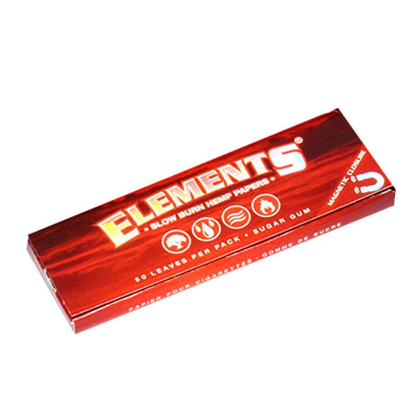 Elements Slow Burn- 1.25 Ultra Thin Magnetic Papers - Smoke City