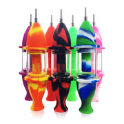silicon nectar collector multiple colors