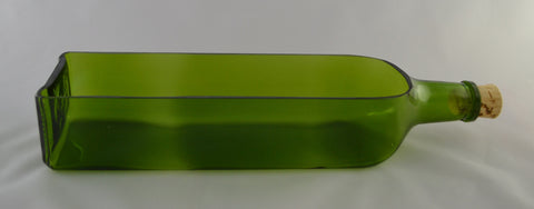 Planter - Green Rectangular